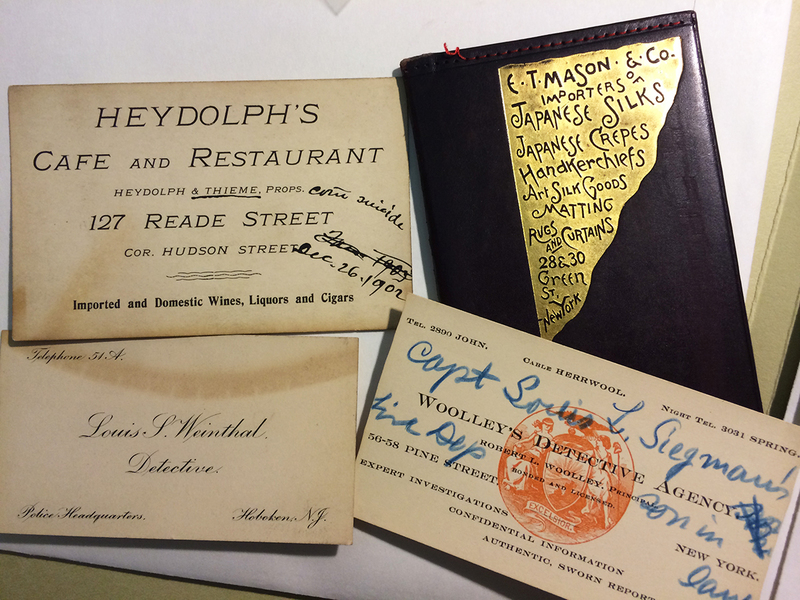 From salacious case files to daily diaries – you gotta love archive collections!